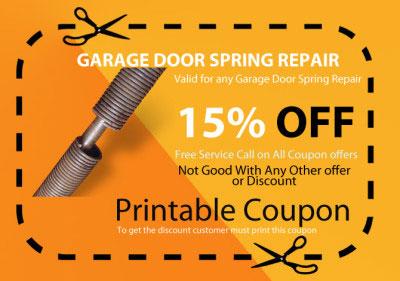 garage door broken spring repair in camarillo