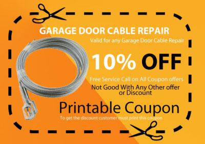 garage door broken cable repair in camarillo